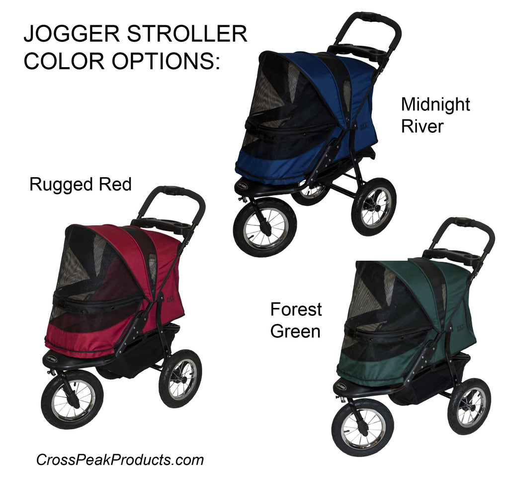 Pet Gear Dog Jogger Color Options