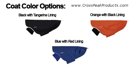 trail blazer dog coat color options