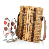 Bacchus Moka Picnic Basket For Two
