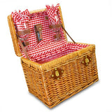 Chardonnay Wine Picnic Basket For Two