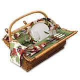 Barrel Picnic Basket For Two