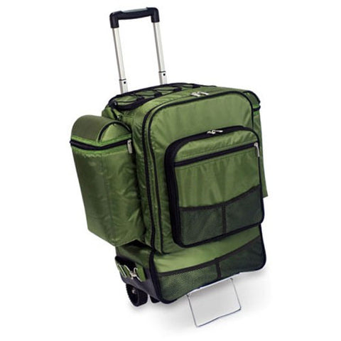Excursion Rolling Picnic Cooler On Wheels