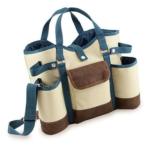 Wine Country Insulated Two Bottle Tote
