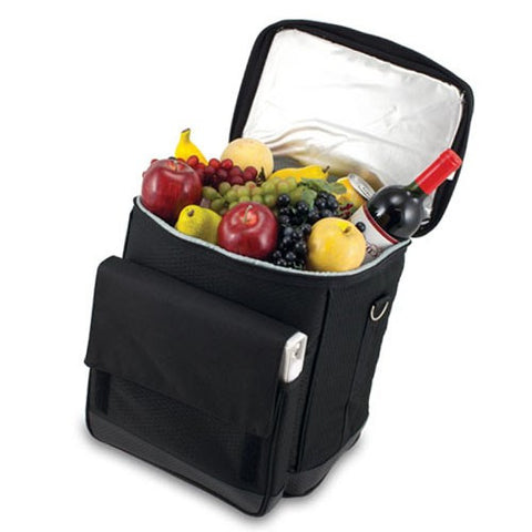 Cellar Six Bottle Wine Carrier With Trolley
