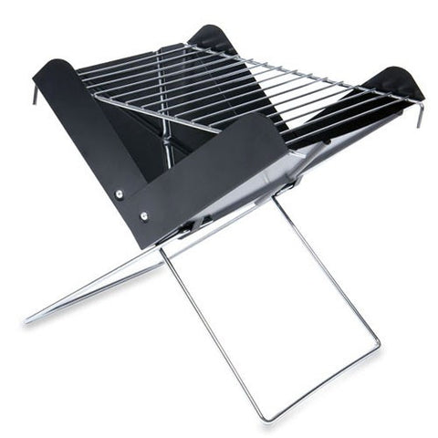 V Grill - Folding, Portable, Charcoal BBQ Grill