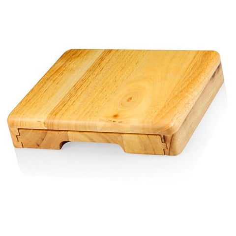 Festiva Cutting Board With Cheese tools