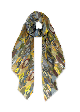 City Lights Reflection Scarf