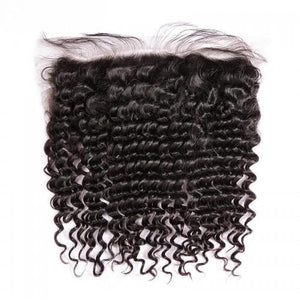Deep Curly Curly Lace Frontal