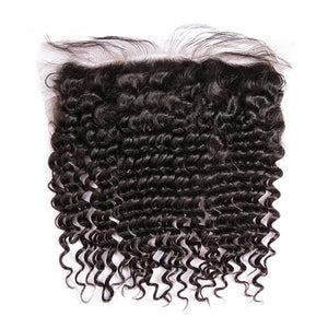 Deep Curly HD Lace Frontal