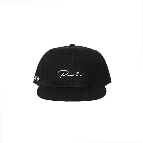 PARIS SNAPBACK - BLACK