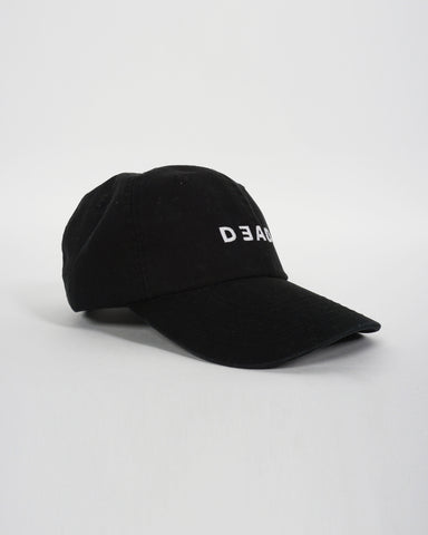 LOGO STRAP BACK - BLACK