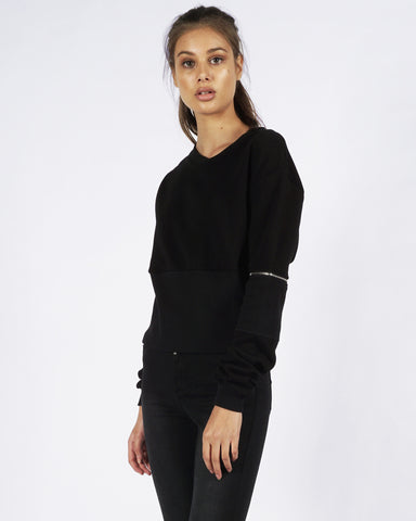 PRE ORDER - BAILEY SWEATER - BLACK