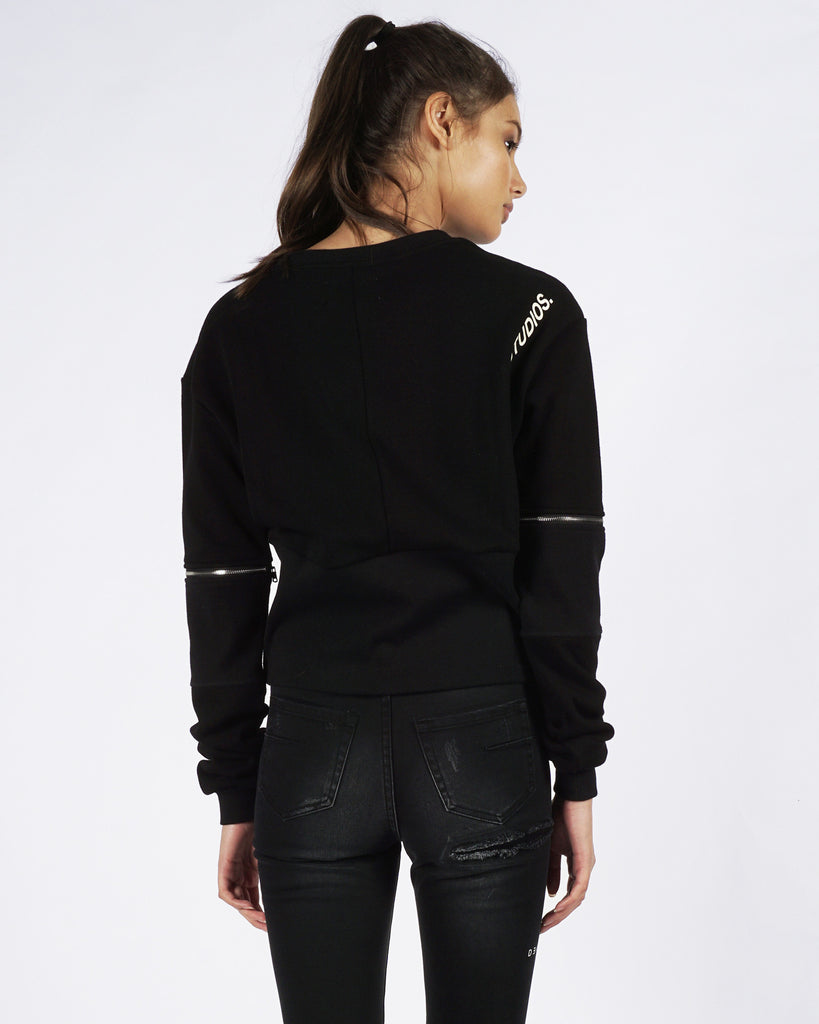 BAILEY SWEATER - BLACK