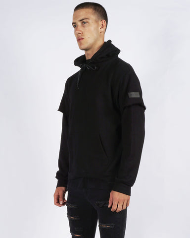 PRE ORDER - SOHO REPEAT HOOD - BLACK