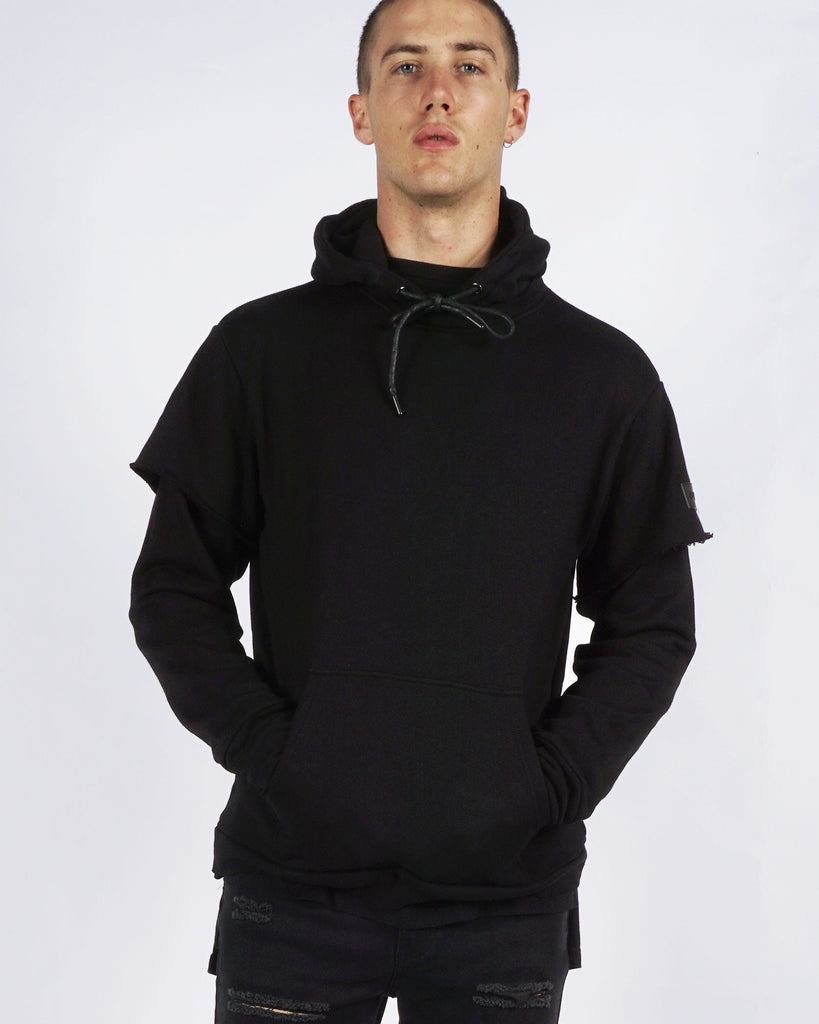 SOHO REPEAT HOOD - BLACK