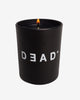 DEAD CANDLE - Leather, Vetiver & Ginger