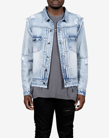 PRE ORDER - RELIC DENIM JACKET- BLEACH INDIGO