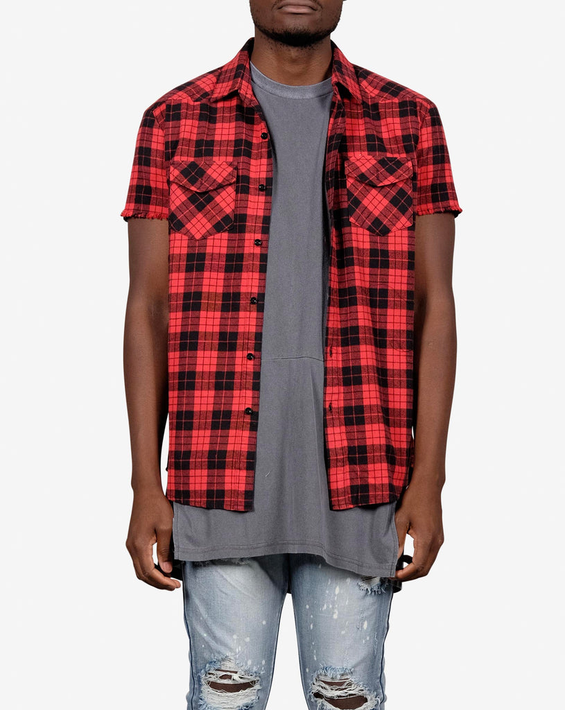 SLEEVELESS FLANNO