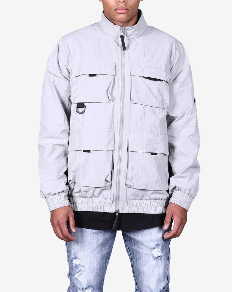 LIGHT COMBAT JACKET - GREY
