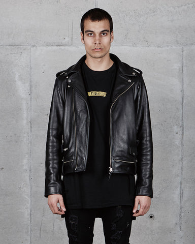 PRE ORDER - PERFECTO LEATHER JACKET - BLACK