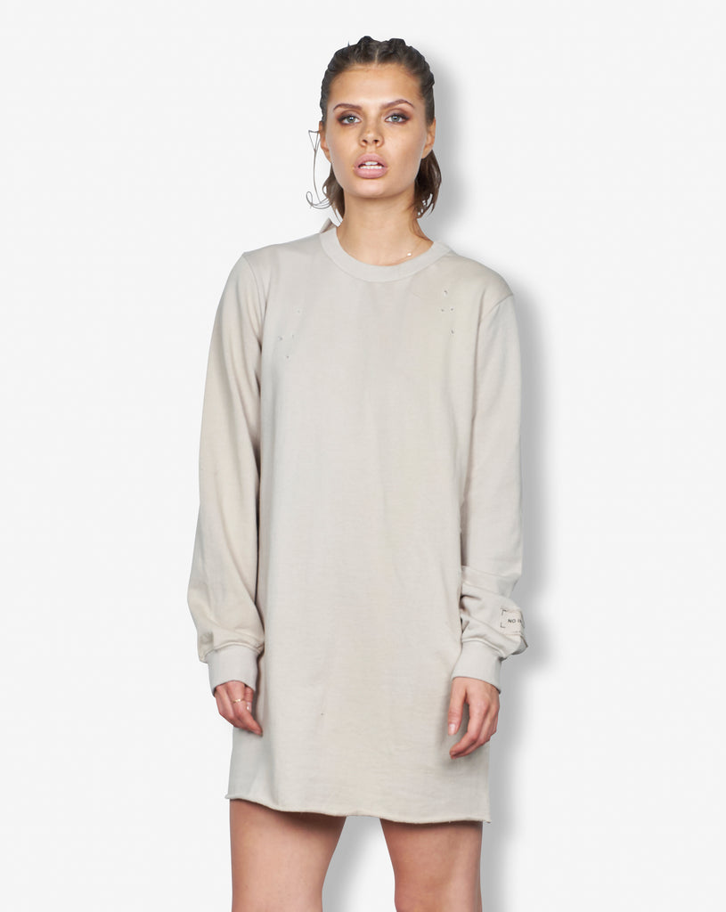 PRE SALE: RAW LONG SWEATER - SAND
