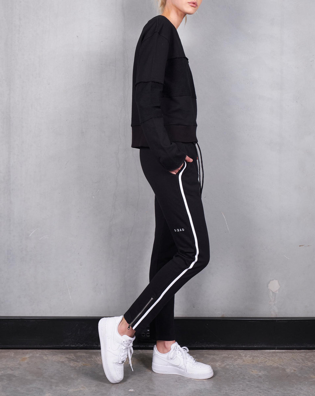 PULSE ZIP TRACKIE - BLACK