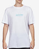 TROPICAL BOX LOGO TEE - WHITE