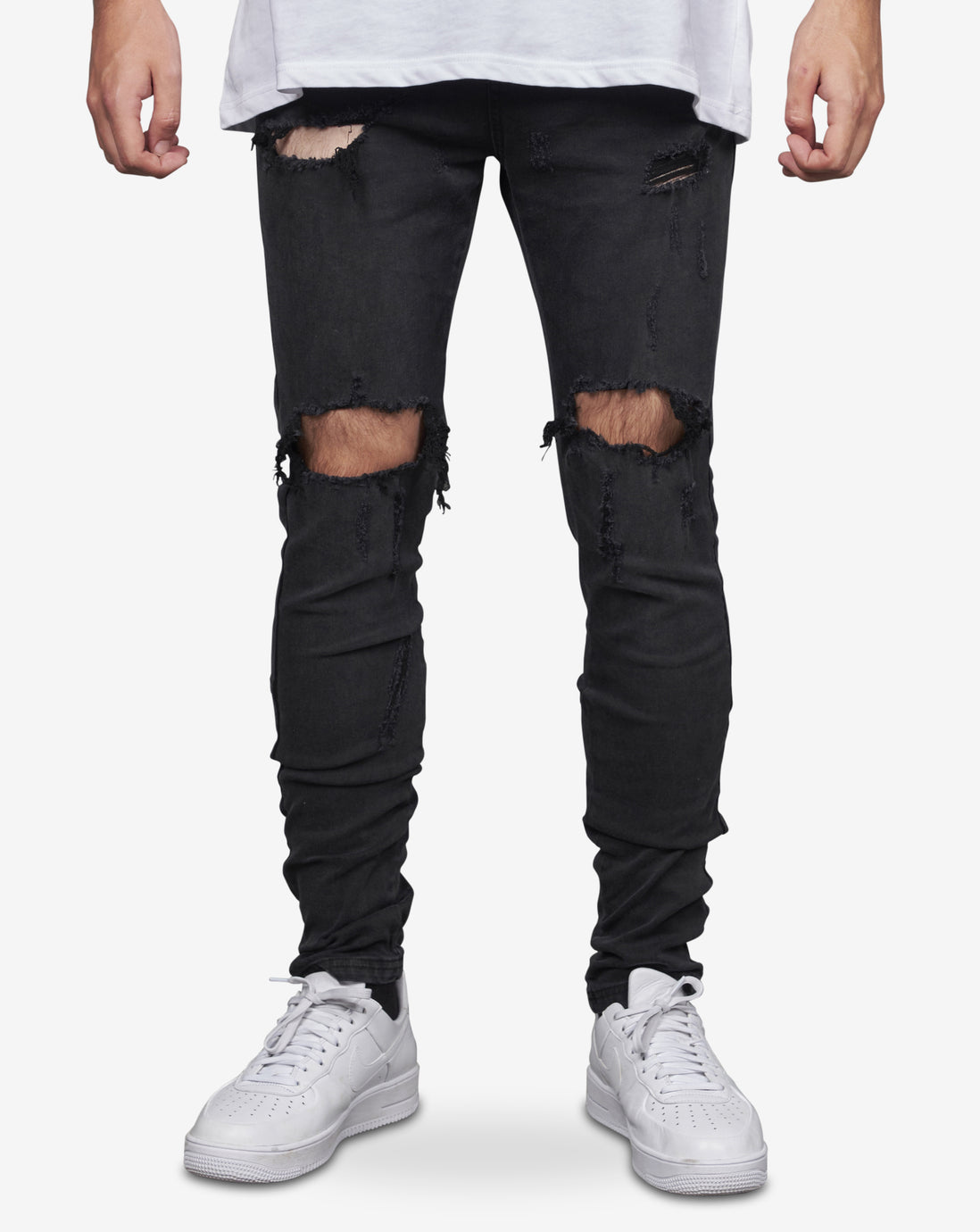 003 REGRETS JEAN - WASHED BLACK
