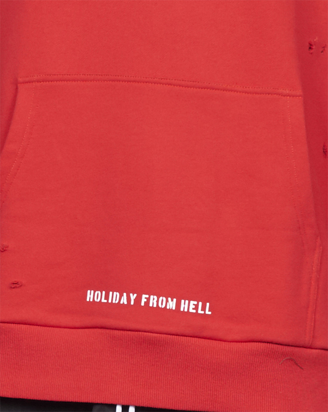 HOLIDAY HOOD - RED