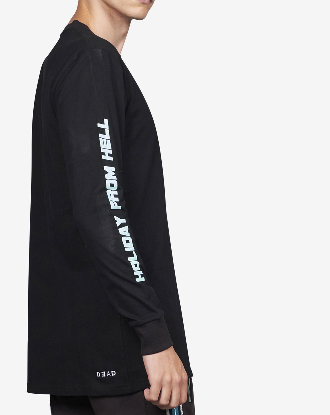 HOLIDAY FROM HELL LS TEE- BLACK