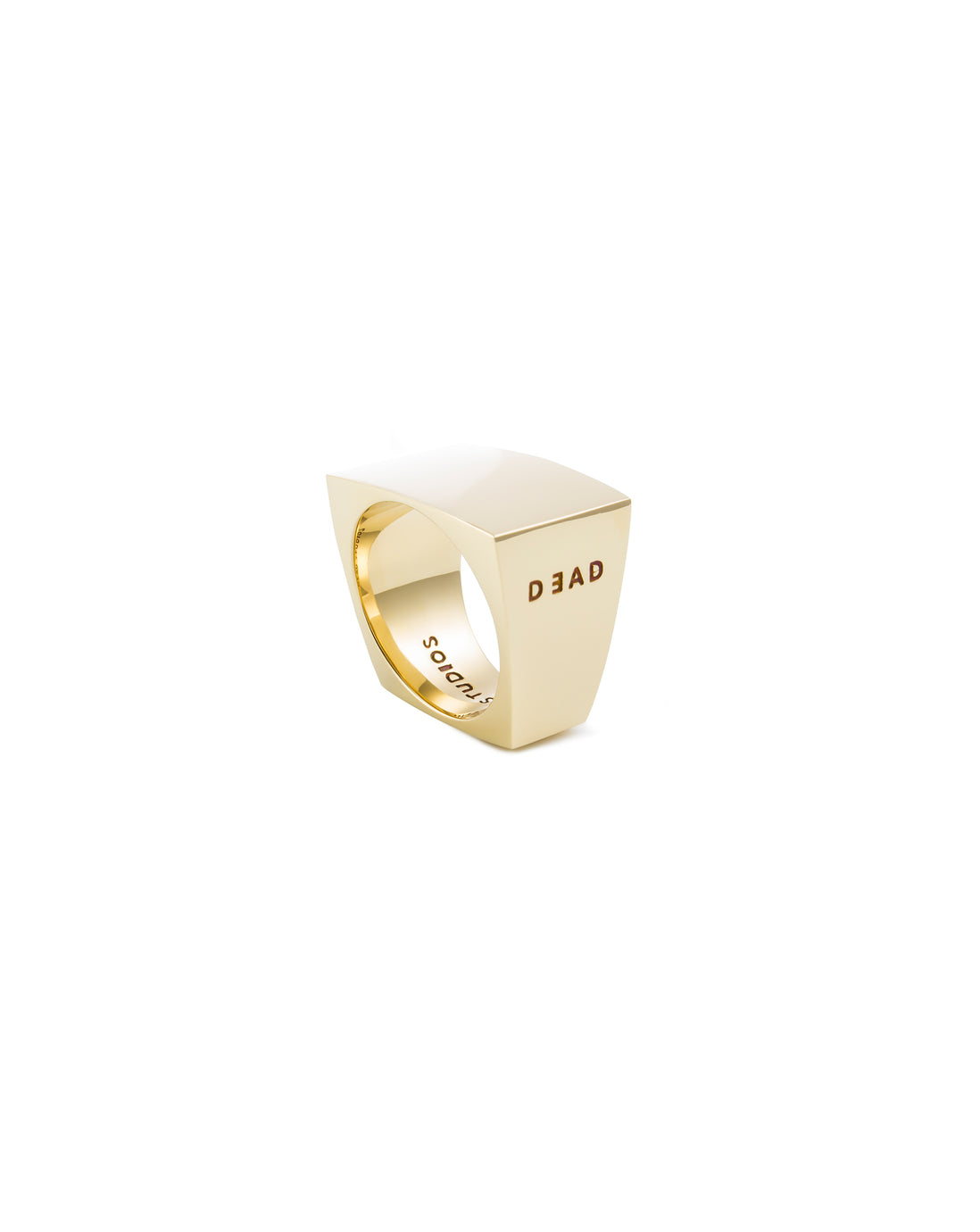 DECES RING- BRASS