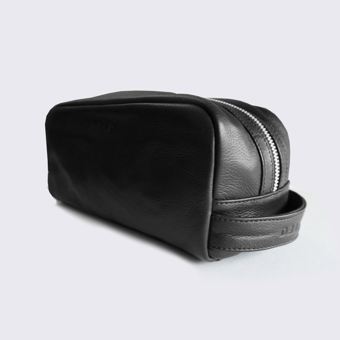LEATHER WASH BAG