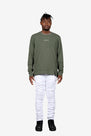 RIOT ZIP SWEATER - OLIVE