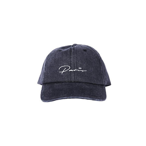 PARIS STRAP BACK - ACID WASH/BLACK