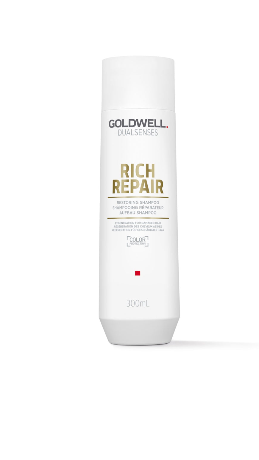 Dualsenses Rich Repair Restoring Shampoo. (300ml)