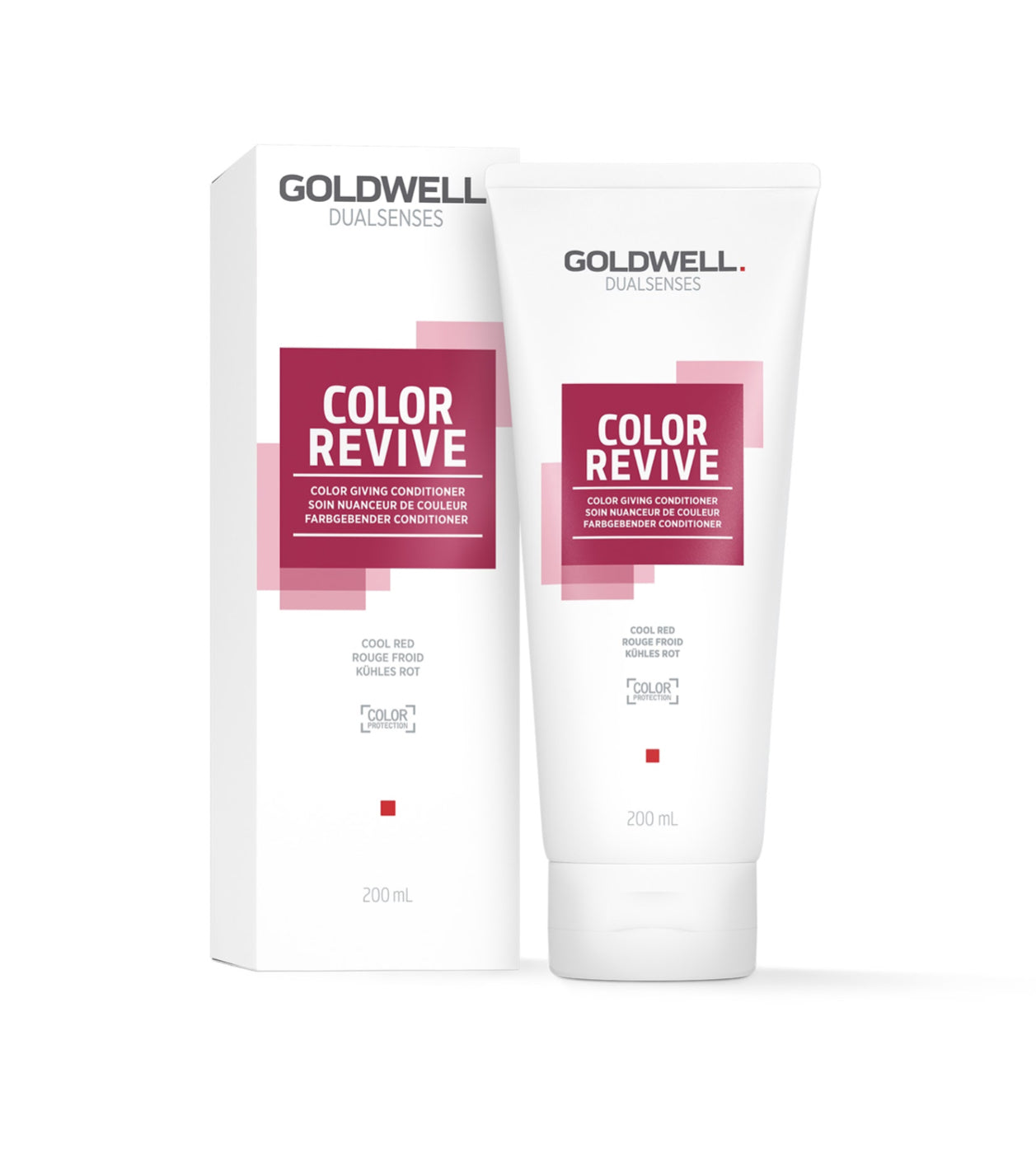 Dualsenses Colour Revive Giving Conditioner:  Cool Red (200 ml)
