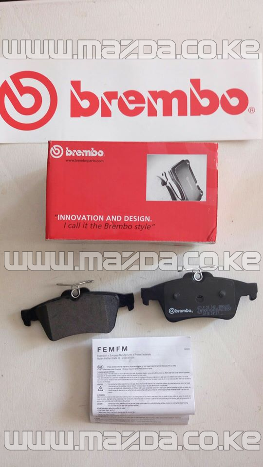 Brembo Brake Pads (Rear)