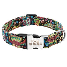 Load image into Gallery viewer, Dog Personalized Nylon Collar