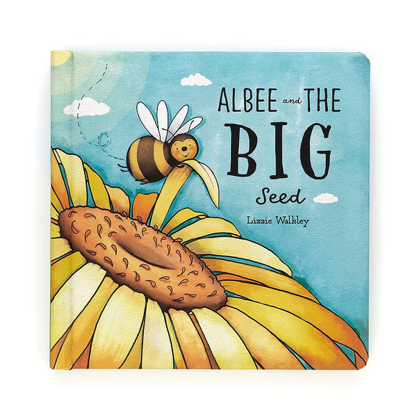Jellycat Albee & The Big Seed Book (Bashful Bee Book)