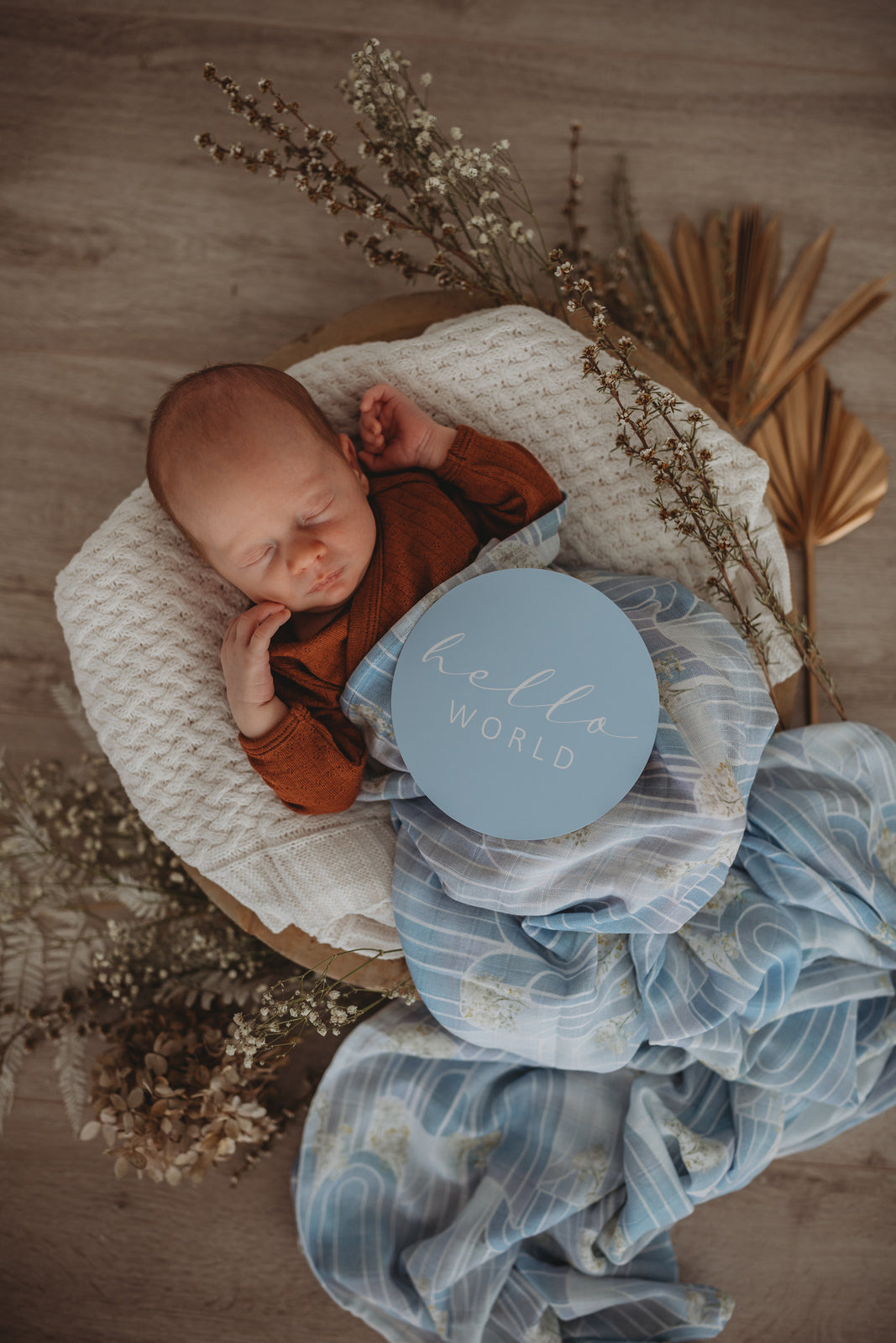 Eventide | Miss Kyree Loves | Organic Muslin Wrap