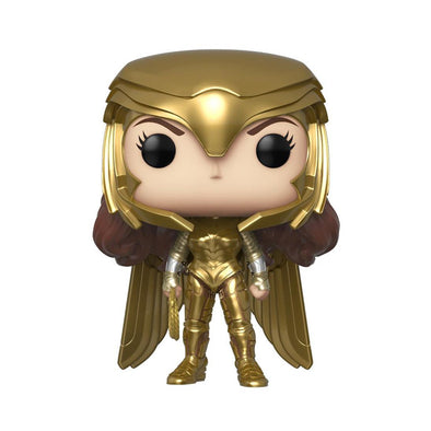 FUNKO POP! HEROES: Wonder Woman 1984 - Wonder Woman Gold Power (Metallic) - Gamer's Town