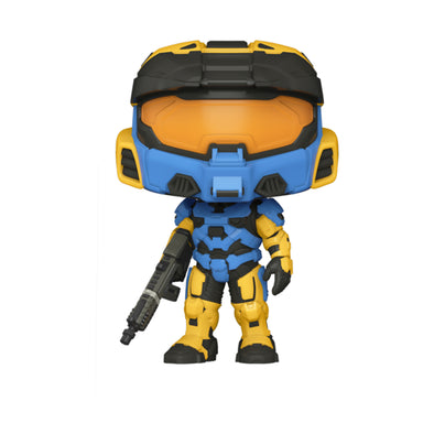 Funko POP! Games: Halo - Blue Spartan Mark VII with VK78 - Gamer's Town