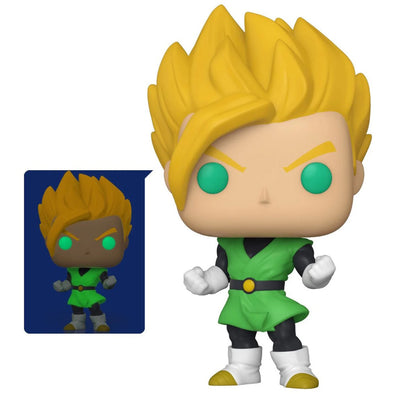 Dragon Ball Z Super Saiyan Gohan Glow-in-the-Dark Pop! Vinyl Figure - Entertainment Earth Exclusive - Gamer's Town