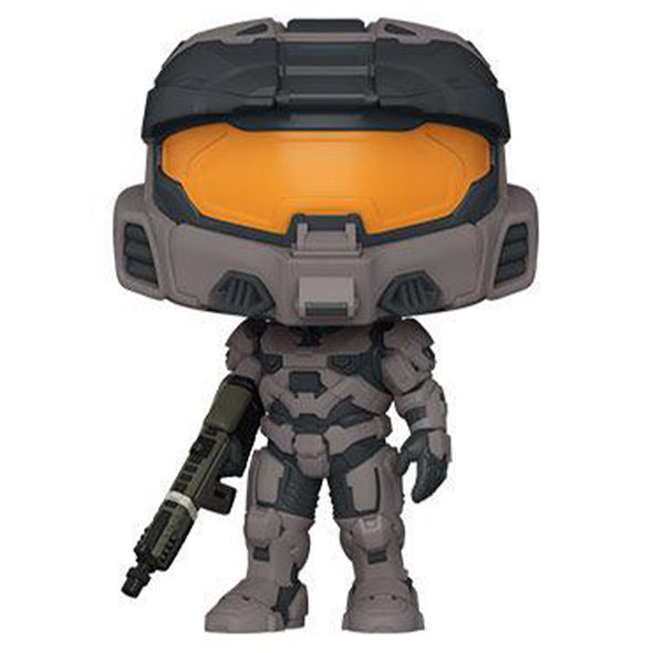 Funko POP! Games: Halo - Grey Spartan Mark VII with VK78 - Gamer's Town