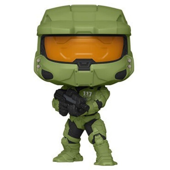 FUNKO POP! GAMES: Halo Infinite - Master Chief With MA40 - Gamer's Town