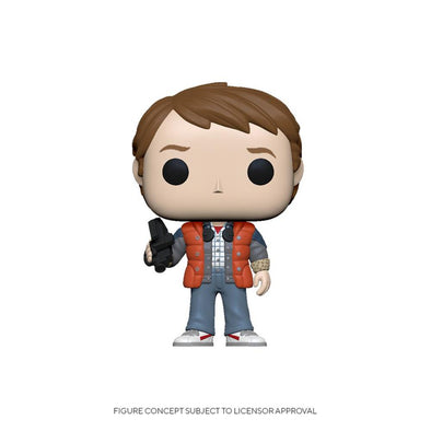 FUNKO POP! MOVIES: Back to the Future- Marty in Puffy Vest - Gamer's Town