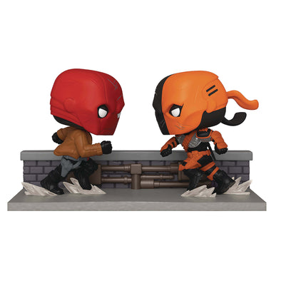 DC Comic Red Hood vs. Deathstroke Comic Moment Pop! Vinyl 2-Pack - San Diego Comic-Con 2020 Previews Exclusive- Gamer's Town