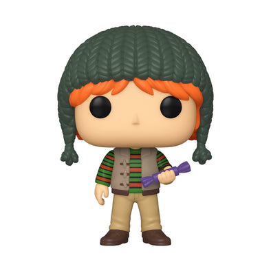 FUNKO POP! HARRY POTTER: Holiday- Ron Weasley - Gamer's Town