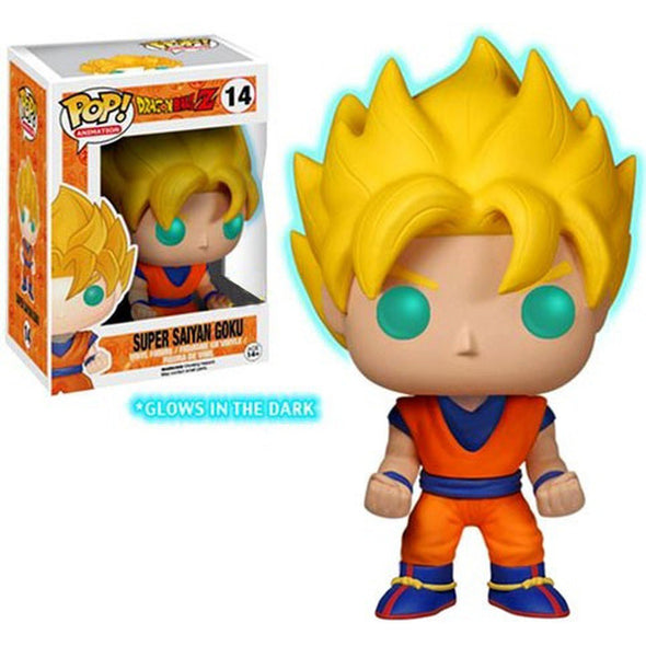 Dragon Ball Z Glow-in-the-Dark Super Saiyan Goku Pop! Vinyl Figure - Entertainment Earth Exclusive - Gamer's Town
