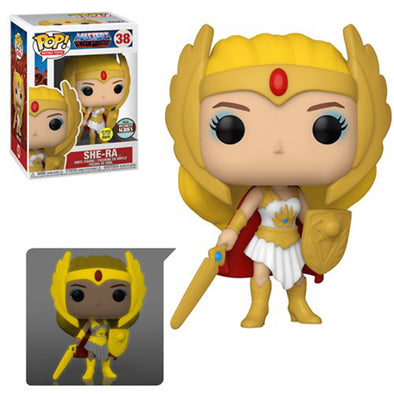 Masters of the Universe Classic She-Ra Glow-in-the-Dark Pop! Vinyl Figure - Specialty Series - Gamer's Town